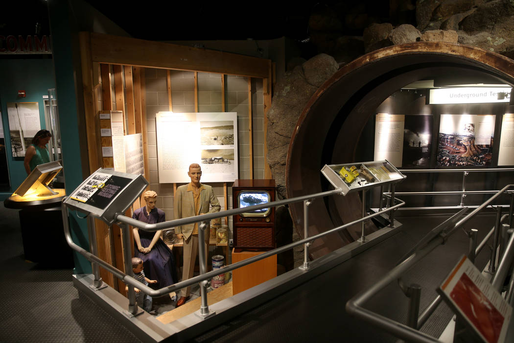 The National Atomic Testing Museum in Las Vegas Monday, June 10, 2019. (K.M. Cannon/Las Vegas R ...