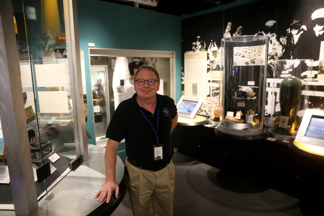 Executive Director Michael Hall at the National Atomic Testing Museum in Las Vegas Monday, June ...