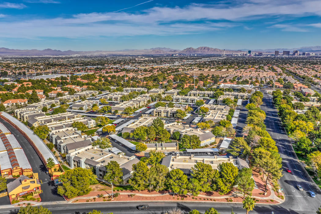 TruAmerica Multifamily said it purchased Las Vegas apartment complex Allanza at the Lakes, seen ...