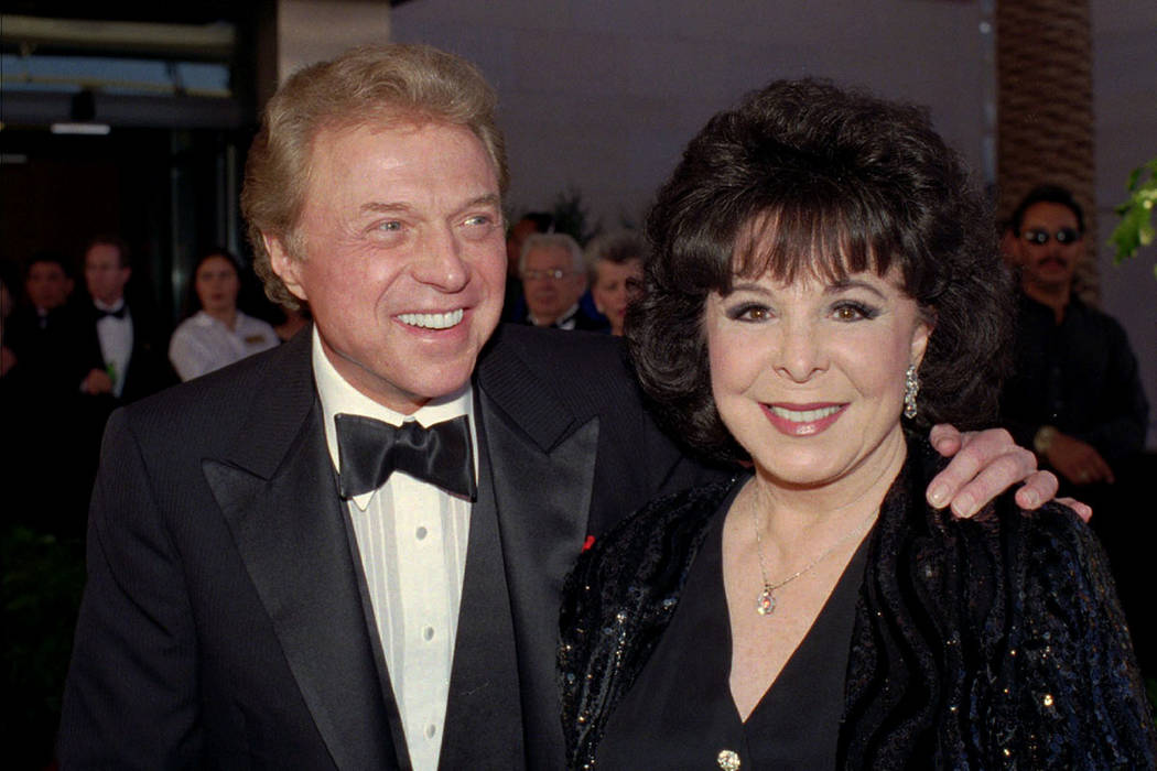 FILE - In this May 30,1998 file photo, singer Steve Lawrence and his Eydie Gorme arrive at the ...