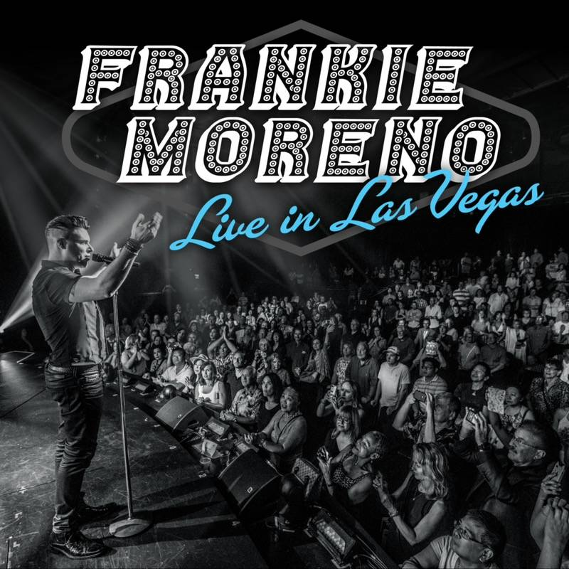 "The cover of ""Frankie Moreno Live In Las Vegas,"" which has debuted at No. 1 in the Billboard He ..."