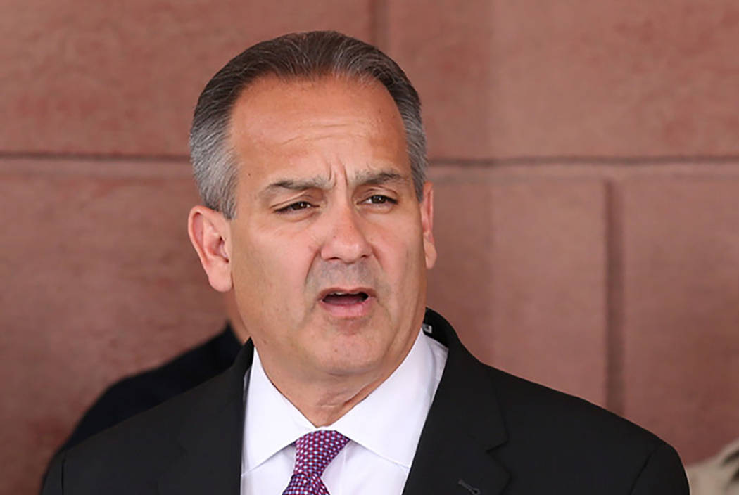 Clark County School Superintendent Dr. Jesus F. Jara (Las Vegas Review-Journal)