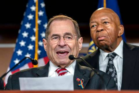House Judiciary Committee Chairman Jerrold Nadler, D-N.Y., joined by House Oversight and Reform ...