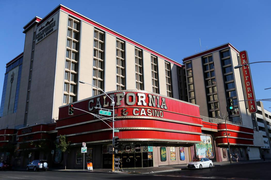 California Hotel in downtown Las Vegas Thursday, Oct. 4, 2018. K.M. Cannon Las Vegas Review-Jou ...