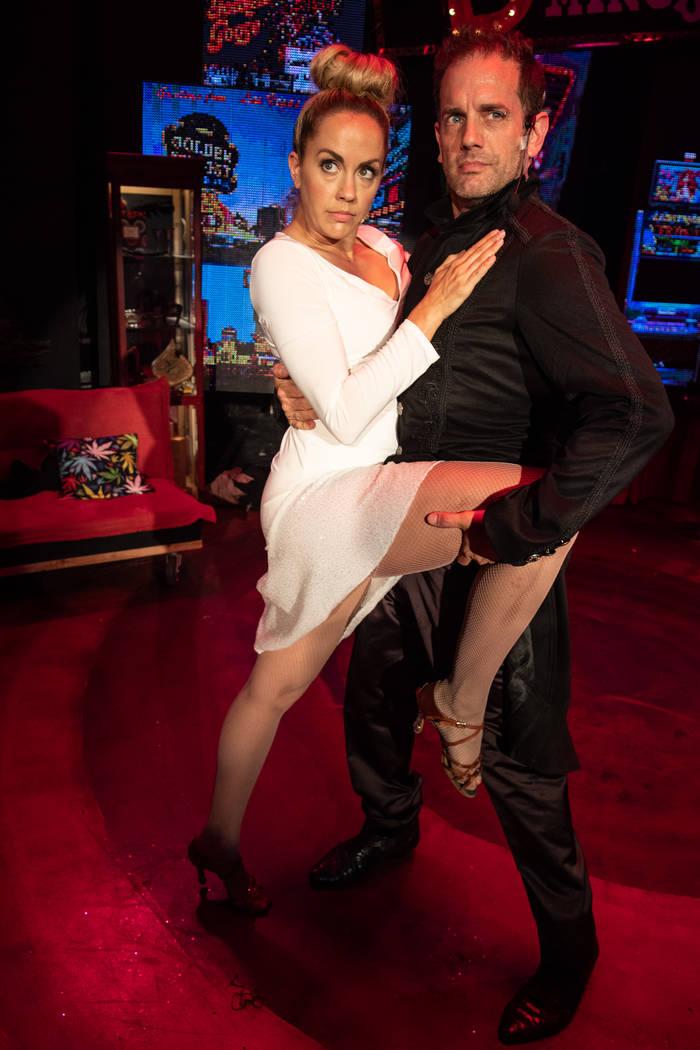 """Savanna Smith and Toby Allen are shown in """"Satango,"""" an original musical performing through Jun ..."""