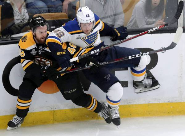 Blues Trounce Bruins In Game 7 Win 1st Stanley Cup Crown Las