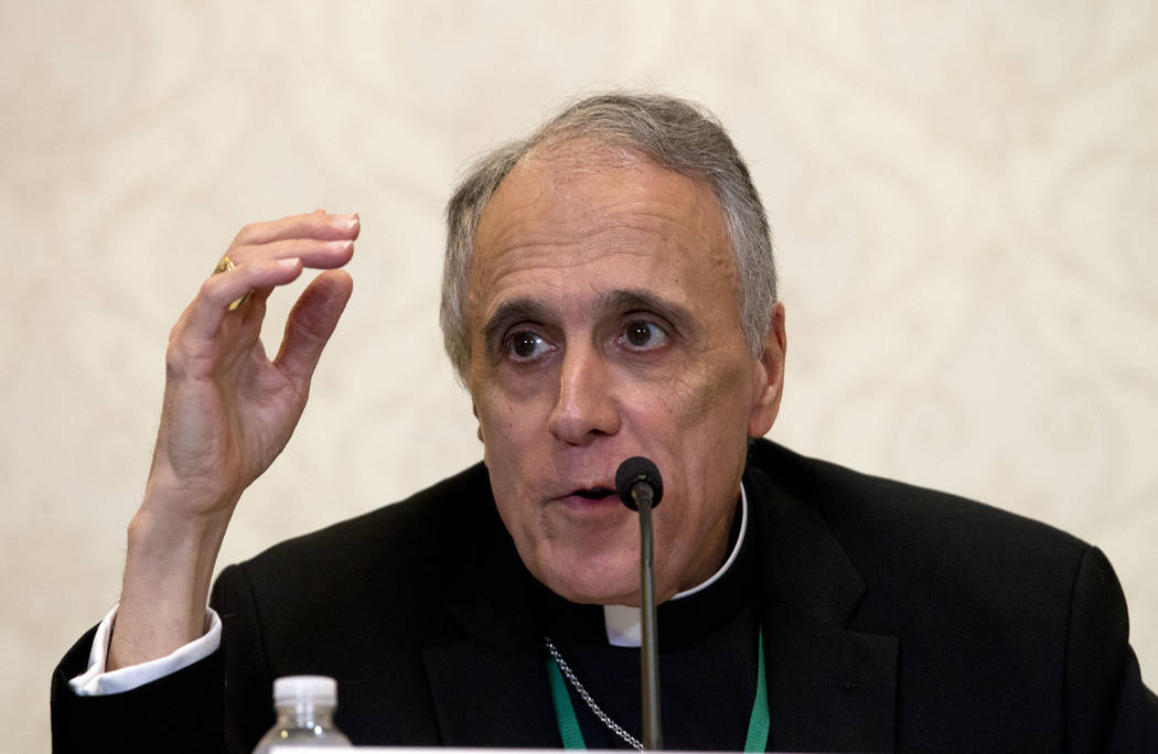 Cardinal Daniel DiNardo of the Archdiocese of Galveston-Houston, and president of the United St ...