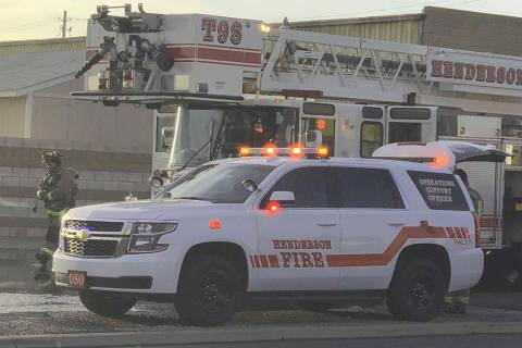 Henderson Fire Department (Las Vegas Review-Journal)