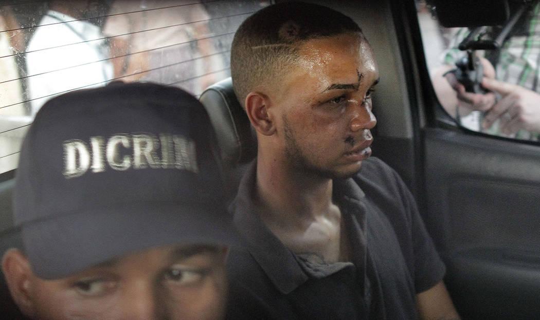 Eddy Vladimir Féliz Garcia, in custody in connection with the shooting of former Boston Re ...