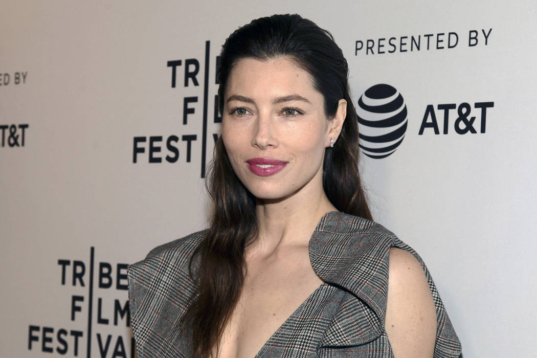 """In this April 25, 2017 file photo, Jessica Biel attends the screening of """"The Sinner,"""" during t ..."""