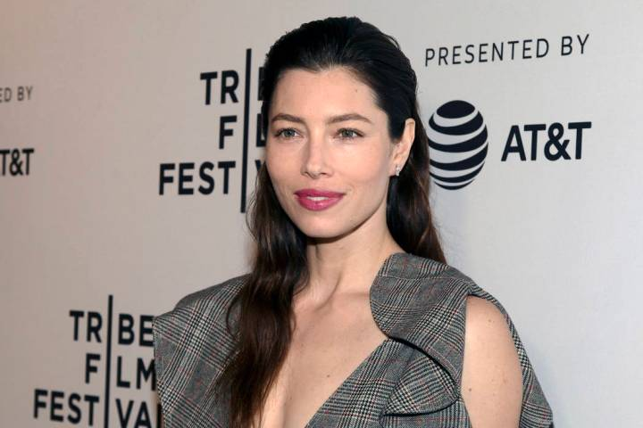 "In this April 25, 2017 file photo, Jessica Biel attends the screening of ""The Sinner,"" during t ..."