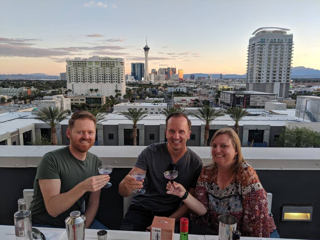 Residents at Juhl in downtown Las Vegas enjoy a built-in social network, thanks to the dynamic ...