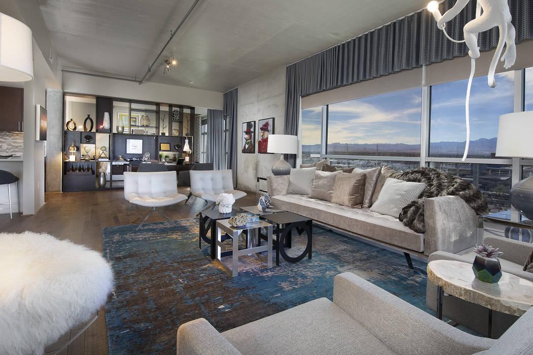 Juhl is a downtown Las Vegas high-rise that offers 130 floor. (Juhl)