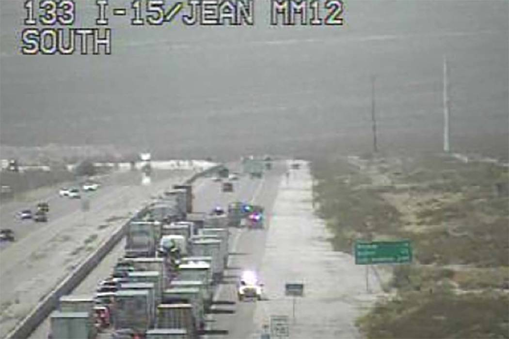 I-15 south of Las Vegas reopens after fatal crash   Las Vegas Review