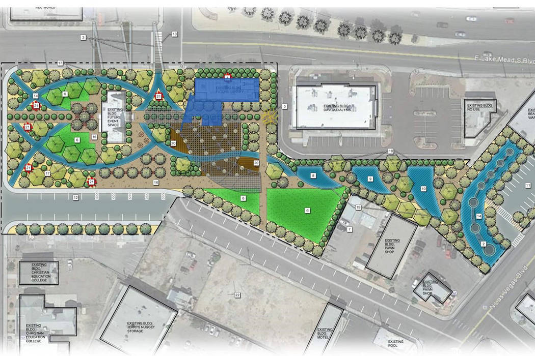 North Las Vegas this past week approved the purchase of downtown land that will be home to what ...
