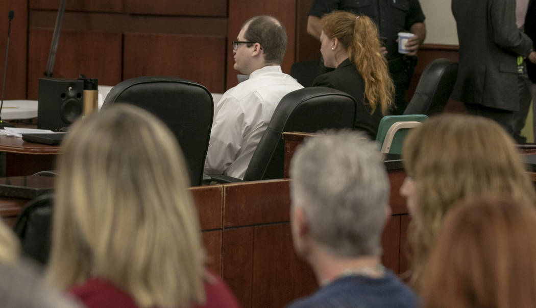 Timothy Jones Jr. sits in court for closing arguments during the sentencing phase of his trial ...