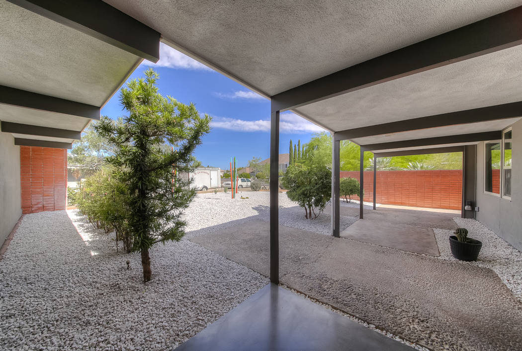 Southern California architect Richard Pleger designed the home in 1966. (Realty One Group)