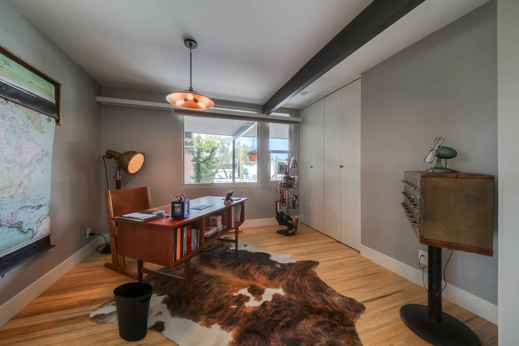 The home measures has two bedrooms and an office. (Realty One Group)