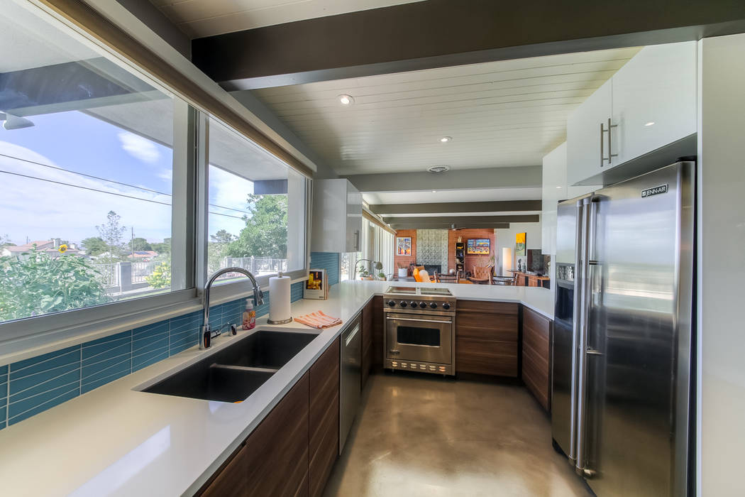 The kitchen was remodeled and had upgraded appliances installed. (Realty One Group)