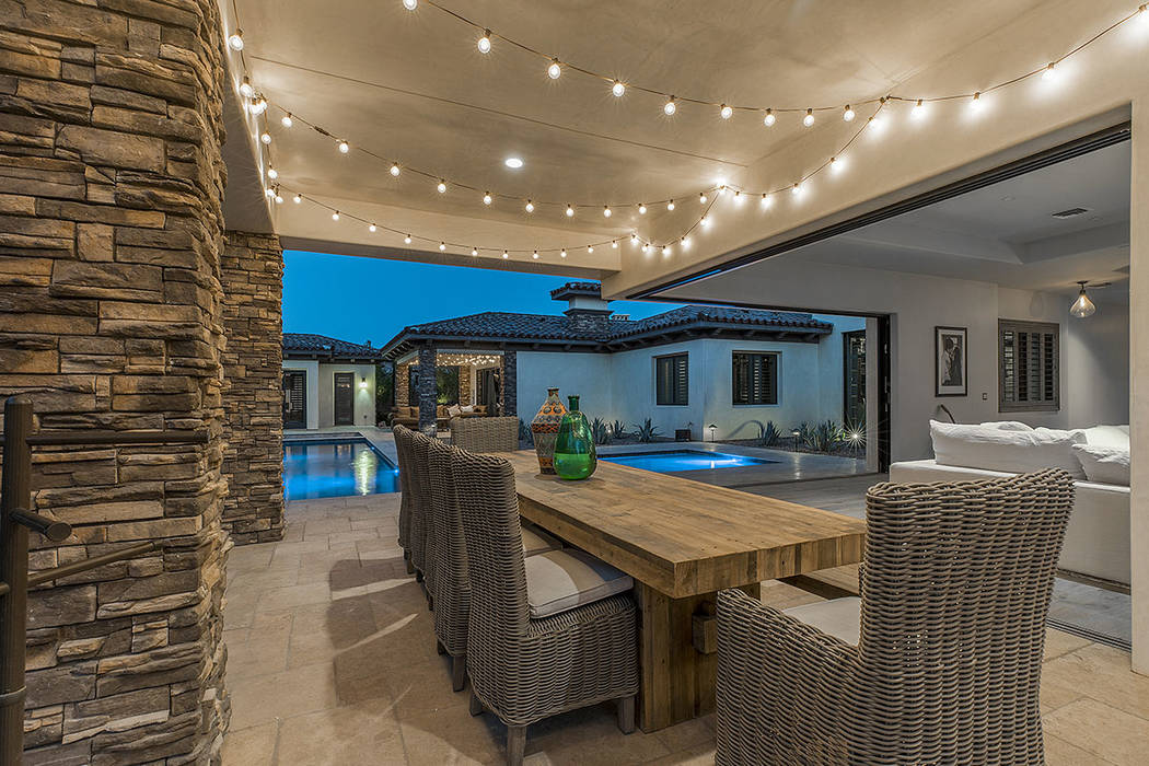 An outdoor patio. (Ivan Sher Group)