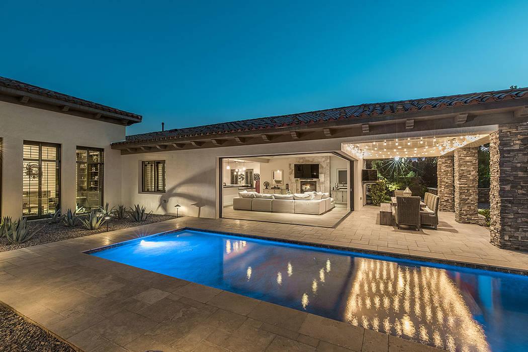 The home features pocket corner doors. (Ivan Sher Group)