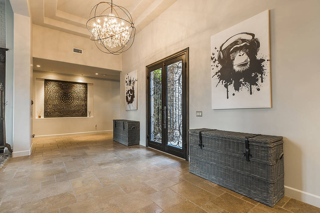 Golden Knights goalie Marc-Andre Fleury bought the home from former NHL player and fellow Canad ...