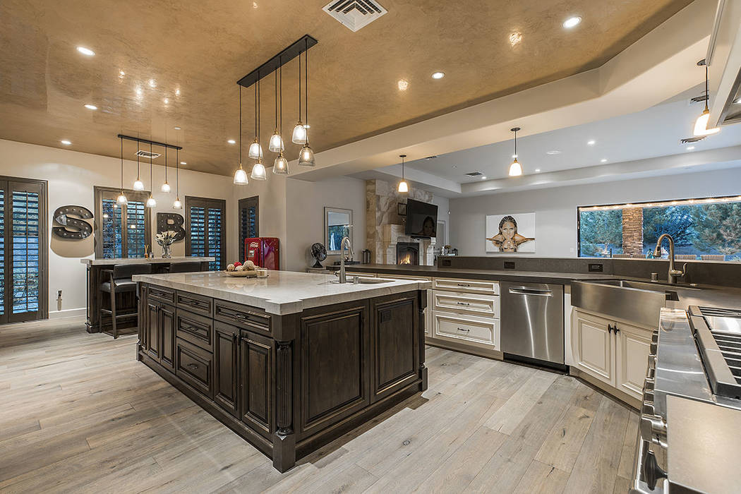 The large kitchen has a household desk area. (Ivan Sher Group)