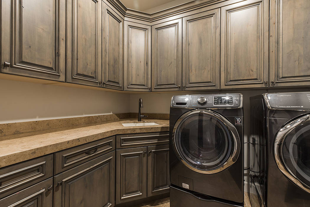 The laundry room. (Ivan Sher Group)