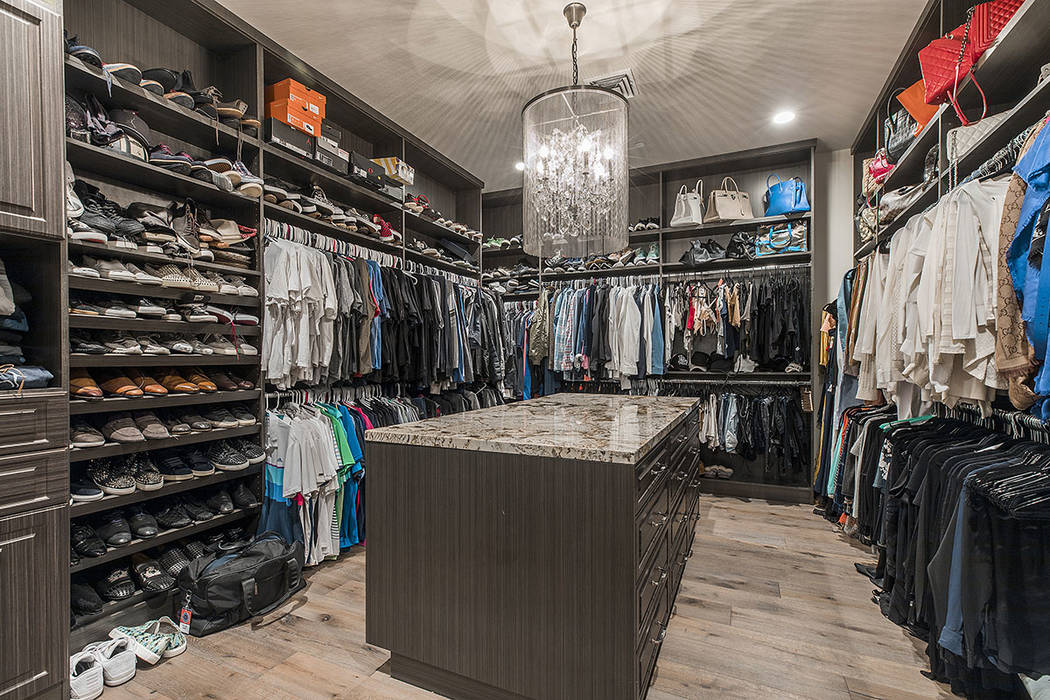 The master suite has a large closet. (Ivan Sher Group)