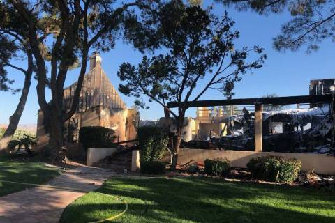 An electrical fire in Henderson home caused $1.2 million in damages Thursday night, June 12, 20 ...