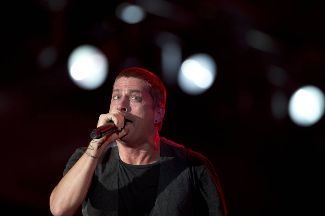 Rob Thomas of Matchbox Twenty performs during the annual Rock in Rio music festival in Rio de J ...
