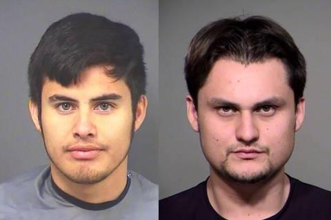 Jose Ortiz-Casillas, left, and Victor Denogean Jr. (Henderson Police Department)