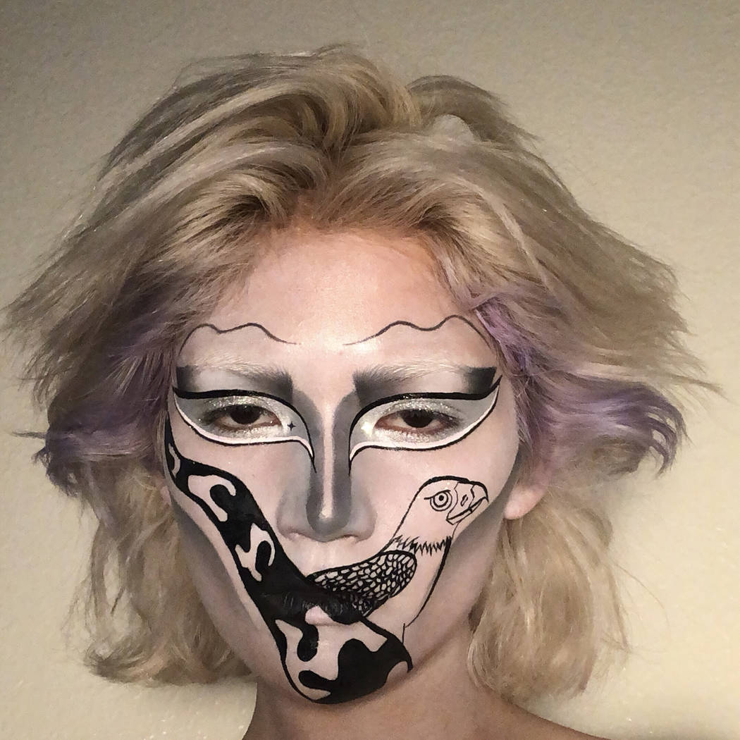 Madrona Redhawk, 18, a Las Vegas resident and Silverado High School graduate, is seen in this u ...