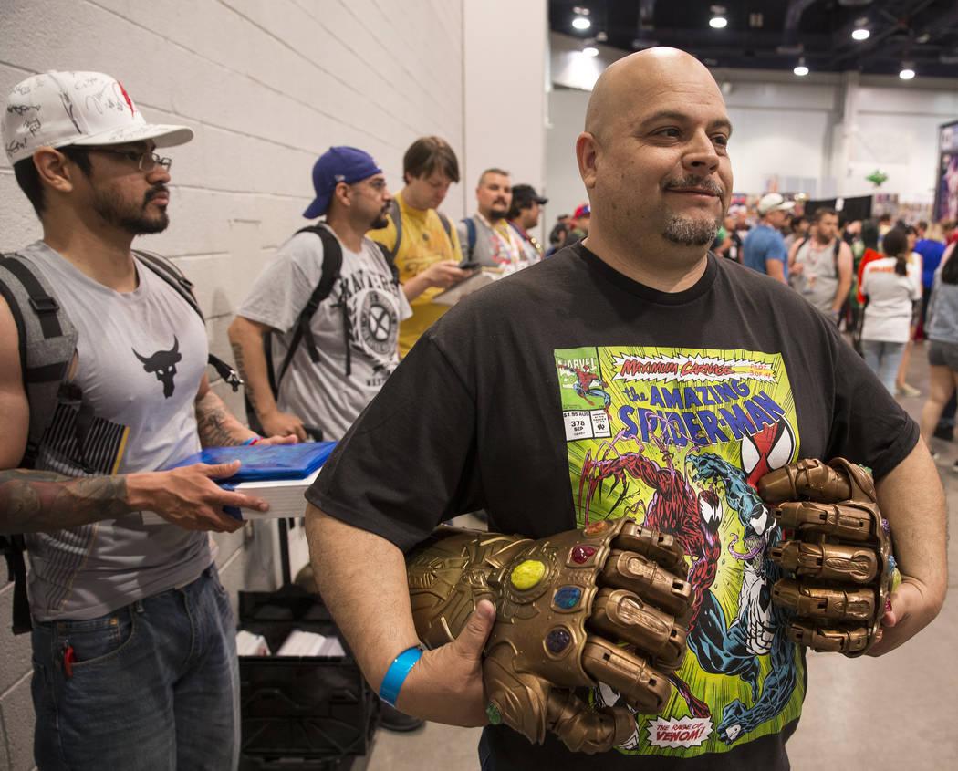 Las Vegas Comic Con amazes fans at convention center ...
