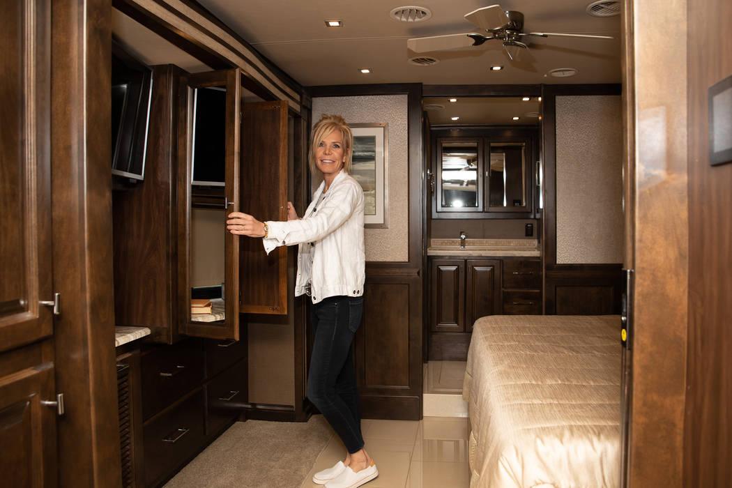 The master bedroom has plenty of storage, according to Carolyn Wager. (Tonya Harvey/PBTH)