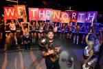 Drake parties with Toronto Raptors in Las Vegas Strip celebration