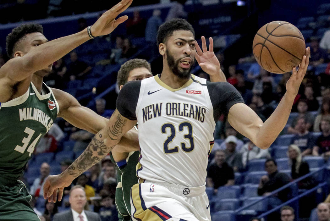 9b051b45ac9 Lakers, Pelicans agree on Anthony Davis trade | Las Vegas Review-Journal