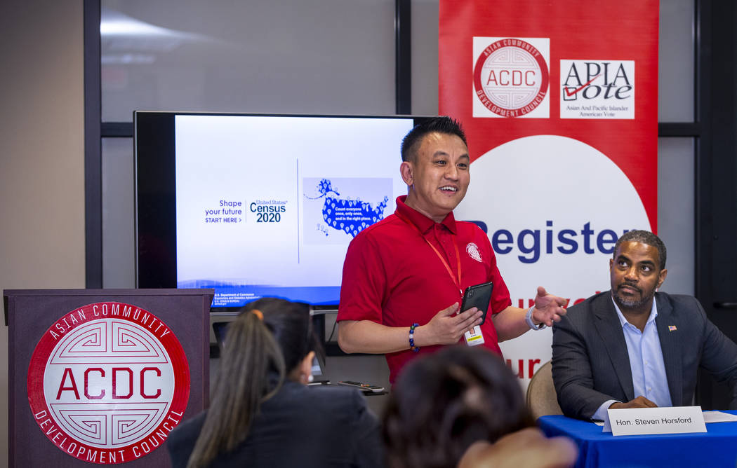 Duy Nguyen, vice president & chief operating officer at the Asian Community Development Cou ...