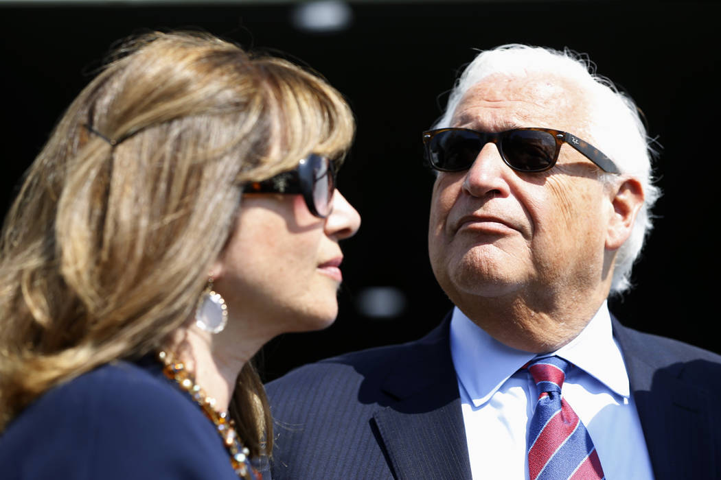 United States Ambassador to Israel David Friedman and his wife Tammy attend the inauguration of ...