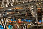 Crews encounter steel canopy truss fit issue on Las Vegas stadium