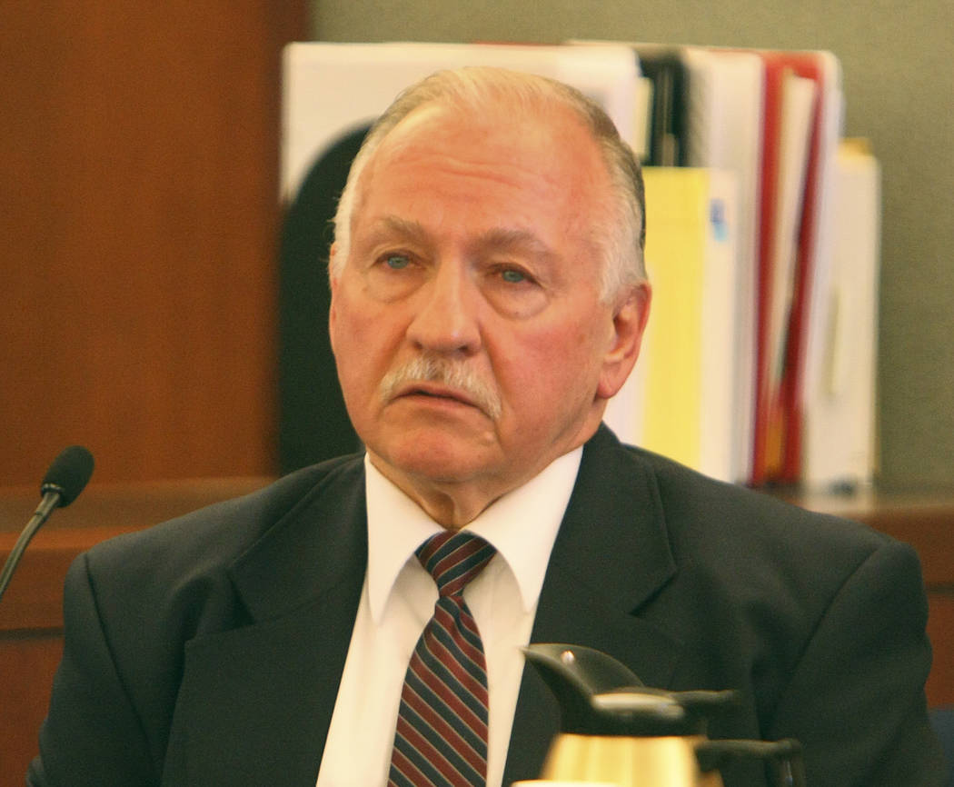 During the coroner's inquest, federal court security officer Arthur Vincent Gennaro testifies a ...