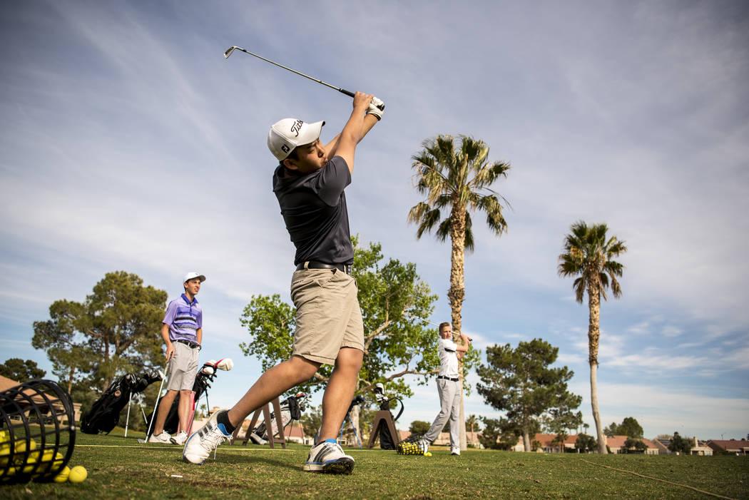 Palm Valley Golf Course in Las Vegas. Joshua Dahl/Las Vegas Review-Journal