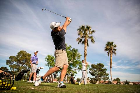 Palm Valley Golf Course in Las Vegas. Joshua Dahl/Las Vegas Review-Journal