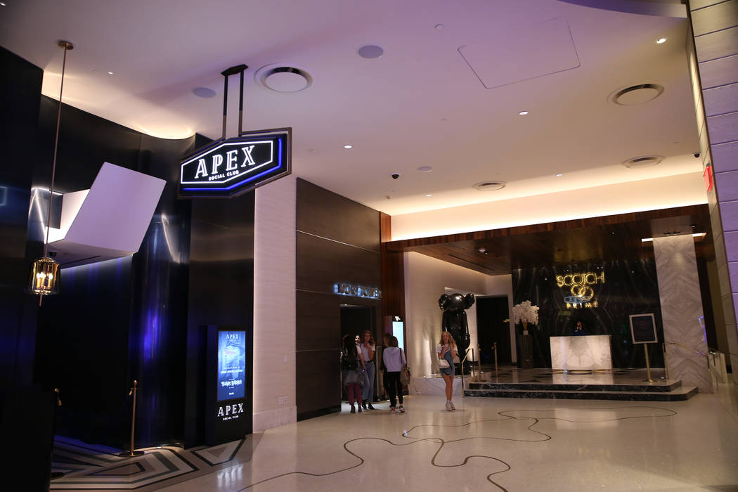The Apex social club inside the renovated Palms hotel-casino in Las Vegas, Thursday, May 17, 20 ...