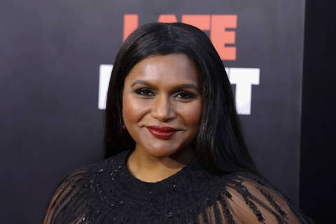 "Mindy Kaling attends the premiere of ""Late Night"" at the Orpheum Theatre on Thursday, ..."