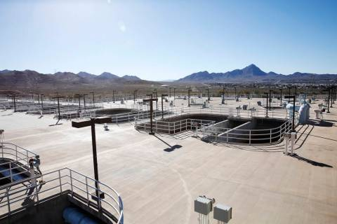 The River Mountains Water Treatment Facility on Wednesday, Jan. 25, 2017, in Henderson. Rachel ...
