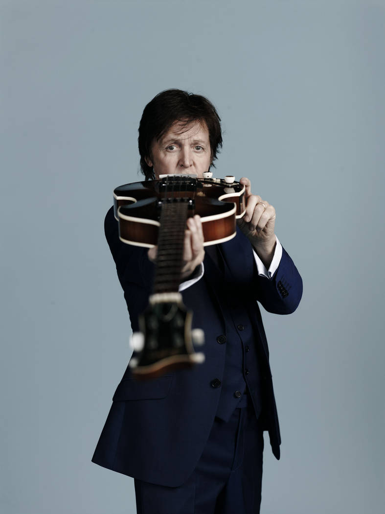 Paul McCartney's last headlining Vegas show was at the MGM Grand in 2011. (Mary McCartney)