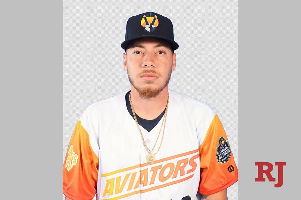 Las Vegas Aviators pitcher Tyler Alexander. (Las Vegas Aviators)