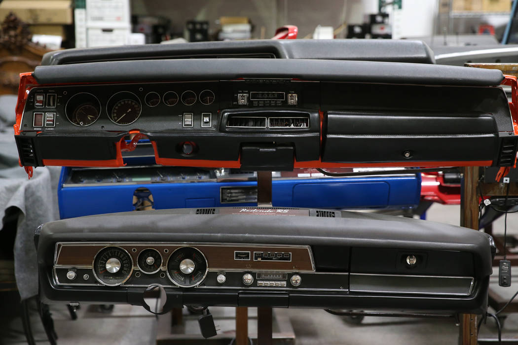 Radio models at the Retro Manufacturing headquarters in Henderson, Wednesday, June 19, 2019. (E ...