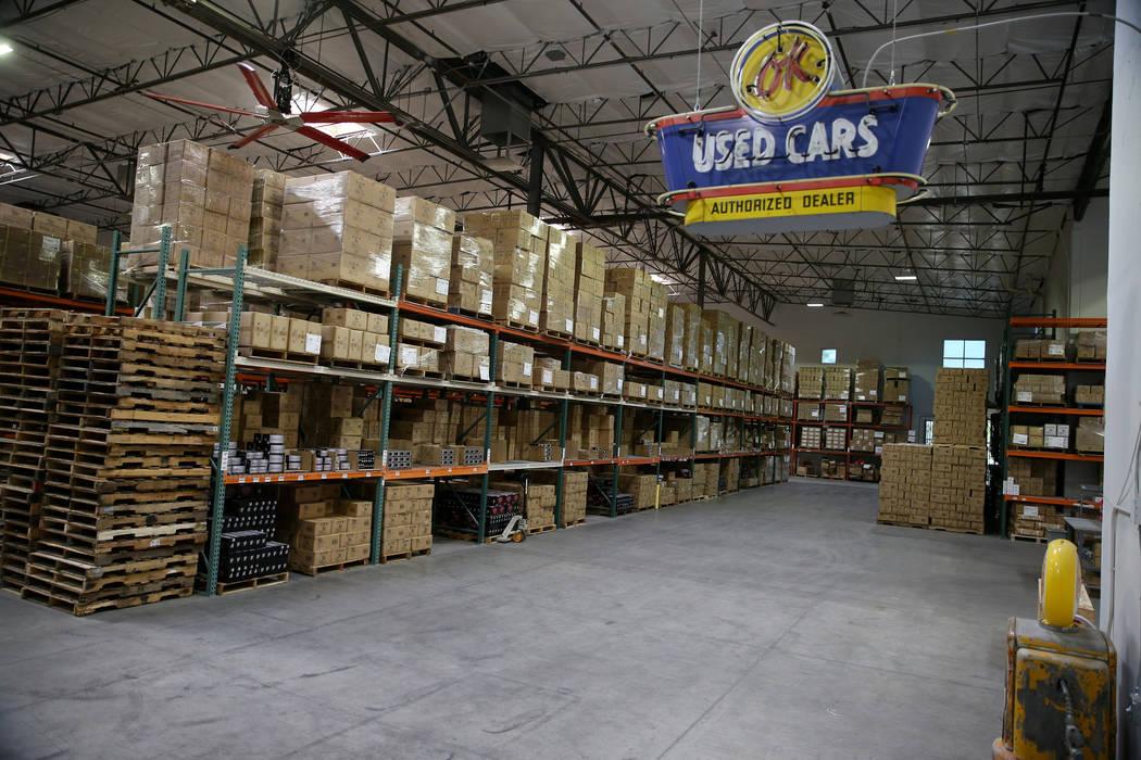 The Retro Manufacturing headquarters in Henderson, Wednesday, June 19, 2019. (Erik Verduzco / L ...